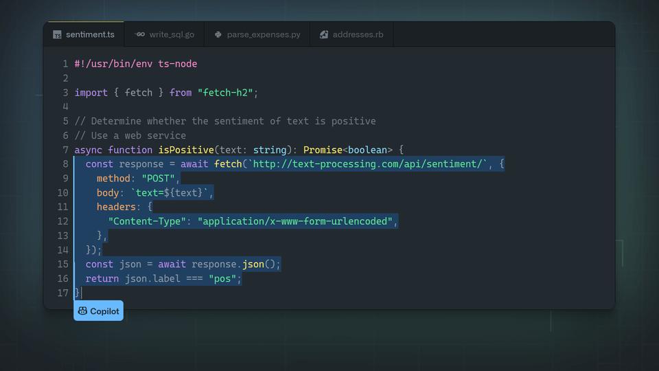 ابزار جدید هوش مصنوعی GitHub-min