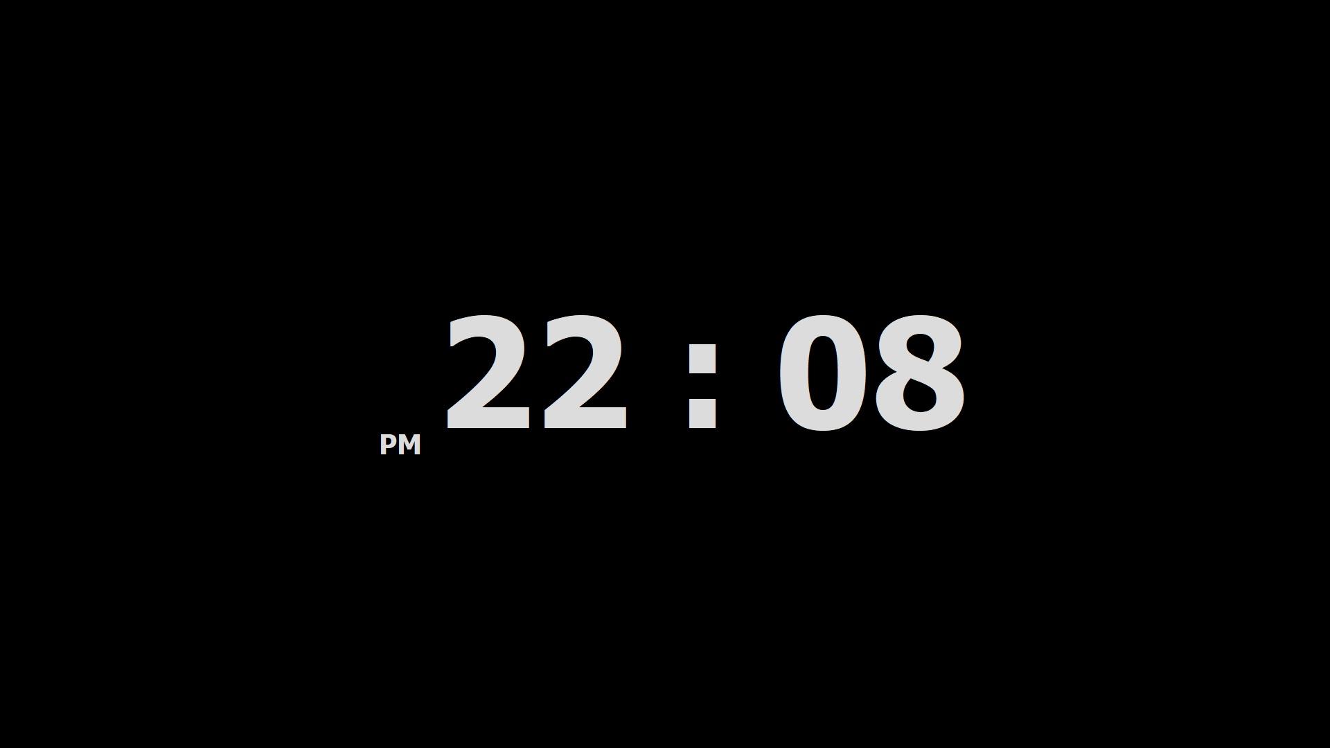 اسکرین شات ساعت رومیزی برای ویندوز