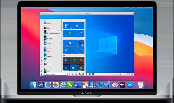 نرم افزار parallels Desktop