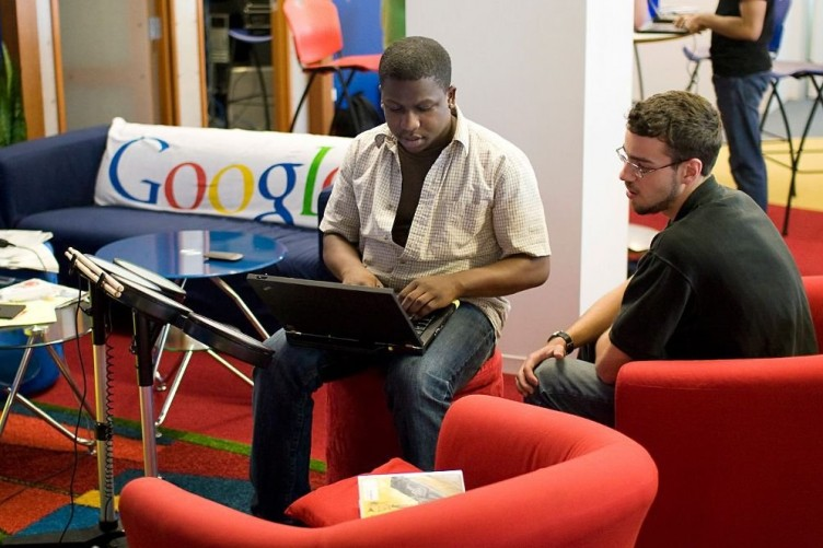 کارمند سیاهپوست گوگل